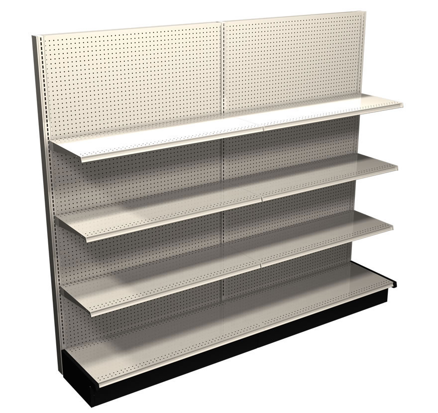 Gondola shelving, DisplayMax Retail Services
